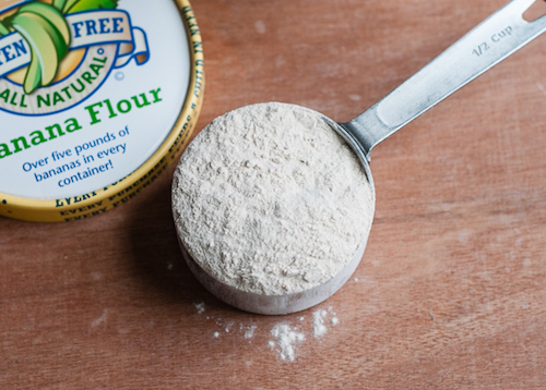 Banana flour - grain-free alternative