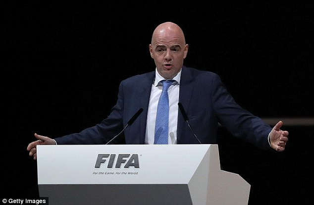 Former UEFA general secretary Gianni Infantino is the new president of world football