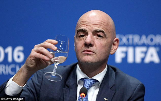 There is reason to be positive that new FIFA president Gianni Infantino has not been banned