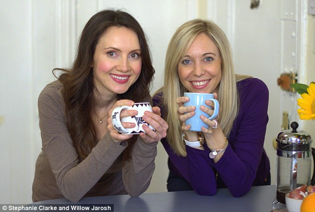 Registered dietitians Willow Jarosh (left) and Stephanie Clarke (right) have written The Happy, Healthy Pregnancy Cookbook