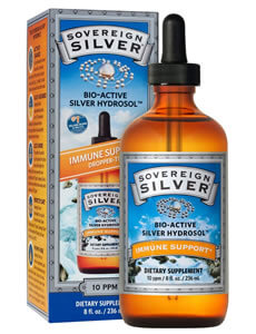 Sovereign Silver, Colloidal Bio-Active Silver Hydrosol Dropper-Top, 10 PPM iherb