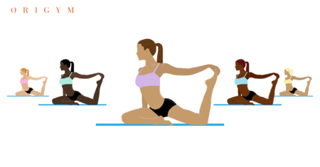 become a pilates instructor: pilates class exercising