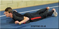 Prone Trunk Extension