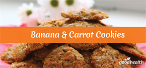Banana & Carrot Cookies