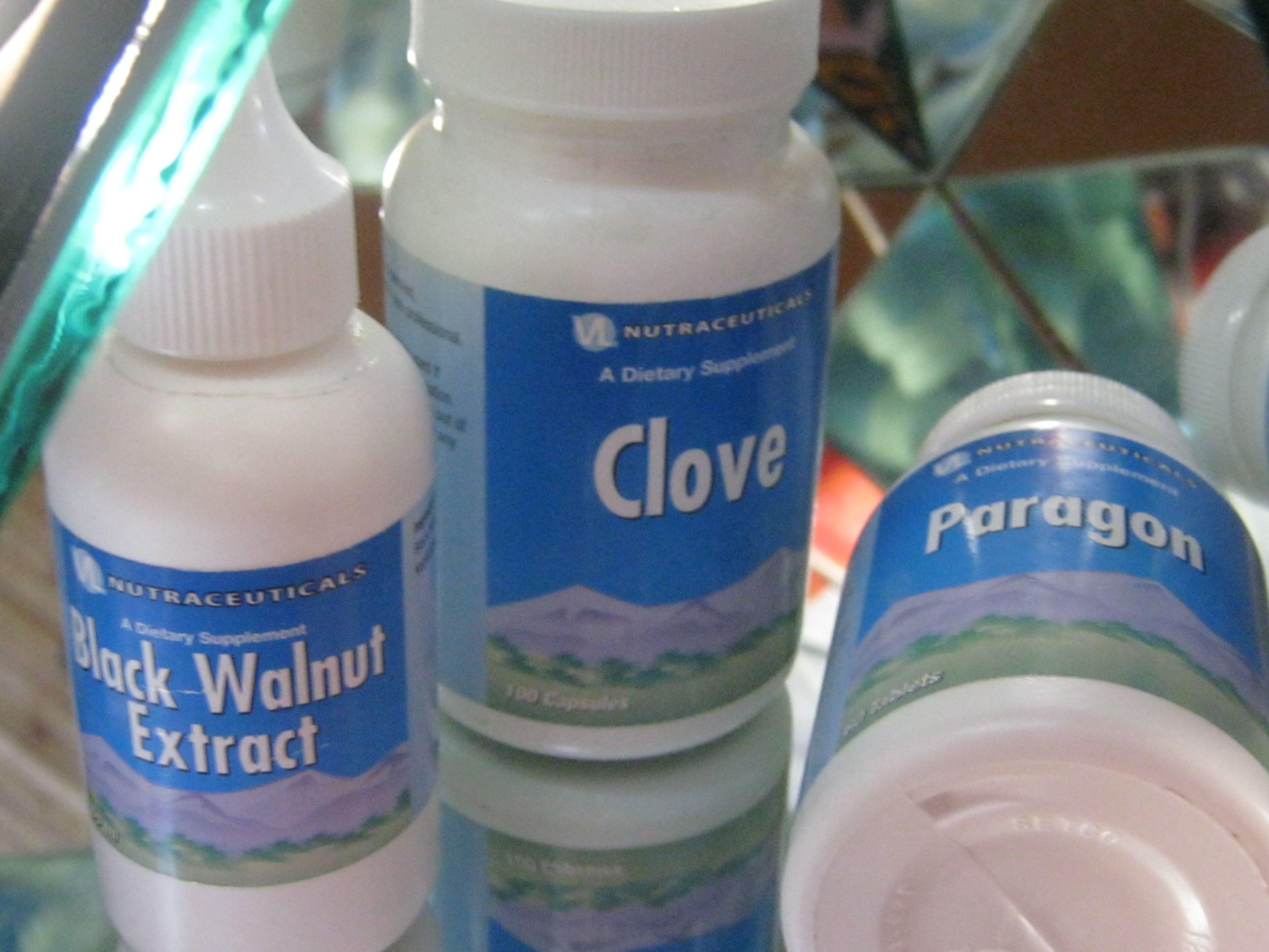 Препараты фирмы ВитаЛайн для очистки от глистов, паразитов